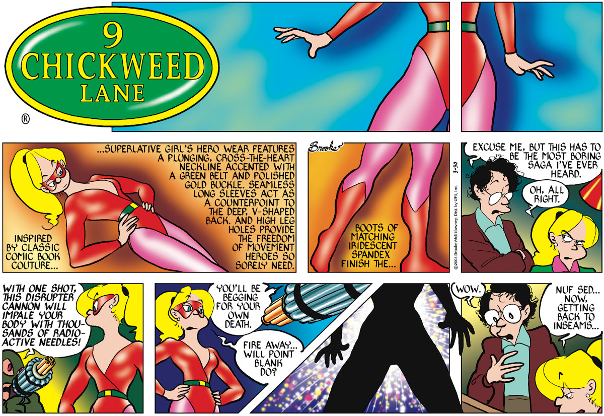 9 Chickweed Lane for Mar 30, 2003 Comic Strip