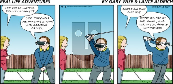 Real Life Adventures on Sunday October 8, 2017 Comic Strip