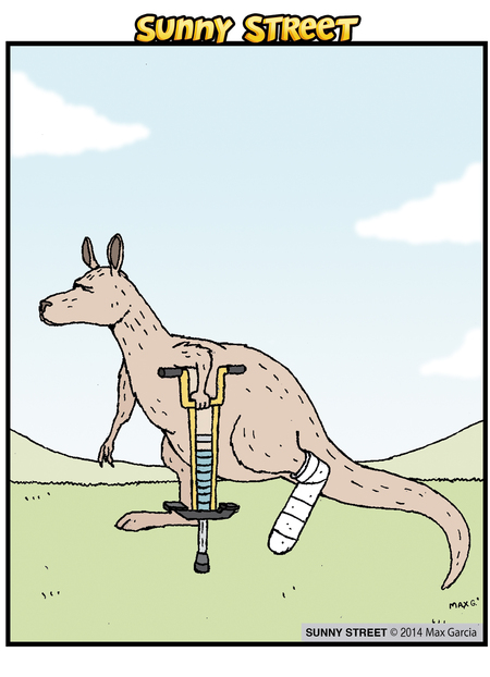 Sunny Street Comic Strip for May 14, 2014