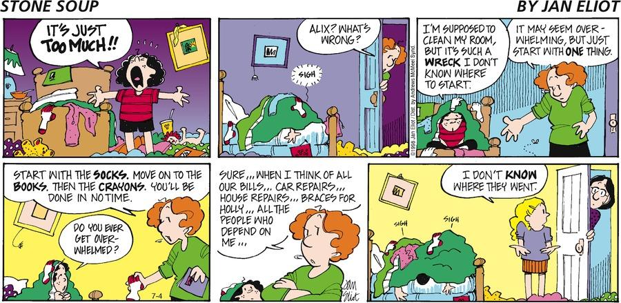 Stone Soup Comic Strip for July 04, 2021