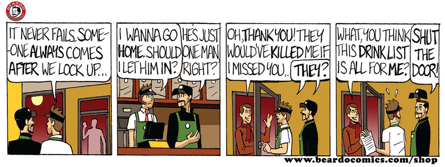 Beardo Comic Strip for June 19, 2019