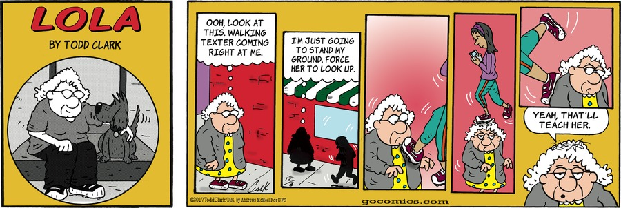 Lola for Dec 3, 2017 Comic Strip
