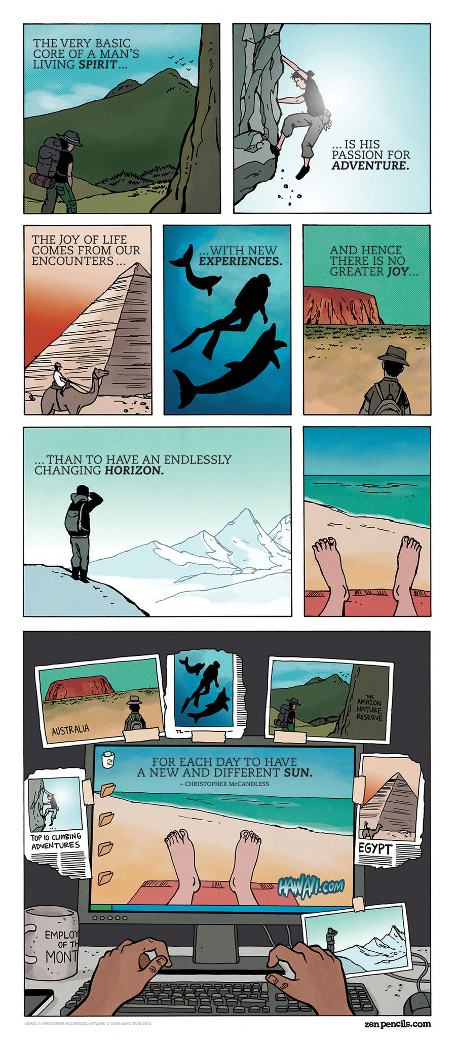 Zen Pencils Comic Strip for November 18, 2013