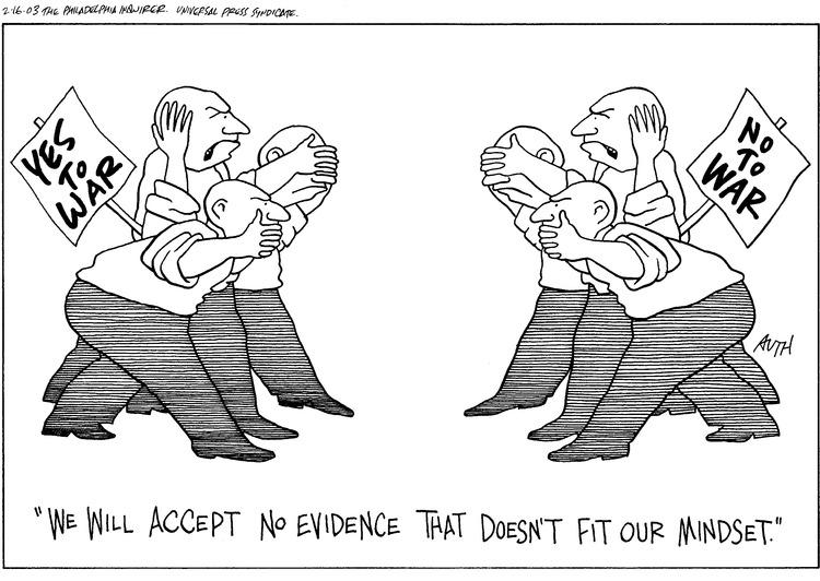 Tony Auth Comic Strip for February 16, 2003