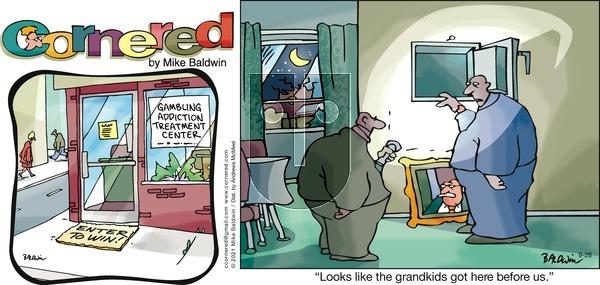 Cornered on Sunday September 26, 2021 Comic Strip