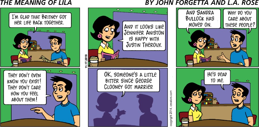 The Meaning of Lila Comic Strip for November 17, 2019
