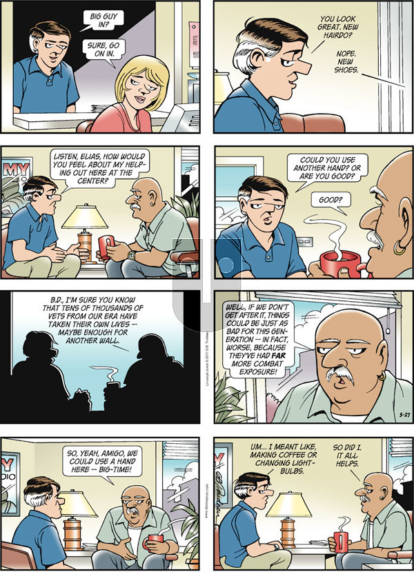 Doonesbury on Sunday May 27, 2012 Comic Strip