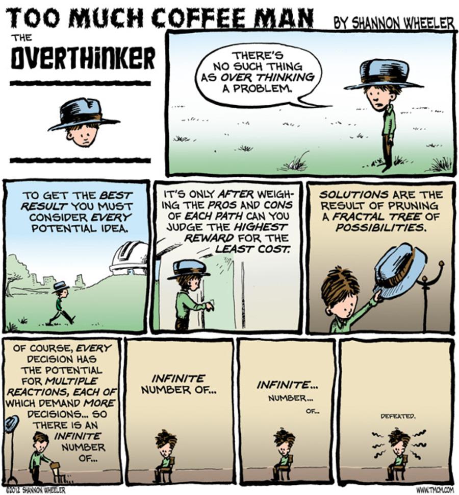 Too Much Coffee Man for Nov 12, 2012 Comic Strip