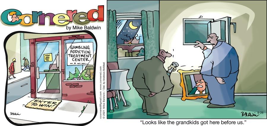 Cornered Comic Strip for September 26, 2021