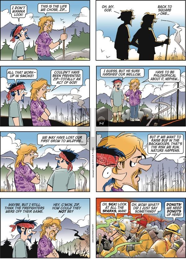 Doonesbury - Sunday September 8, 2013 Comic Strip