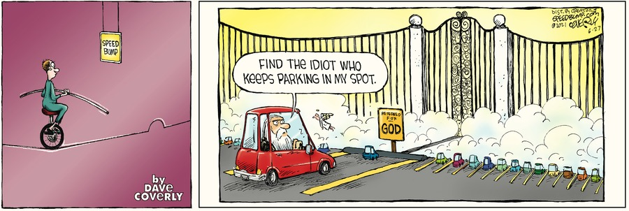 Speed Bump Comic Strip for June 27, 2021