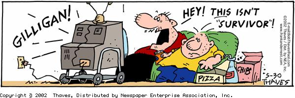 Frank and Ernest for May 30, 2002 Comic Strip