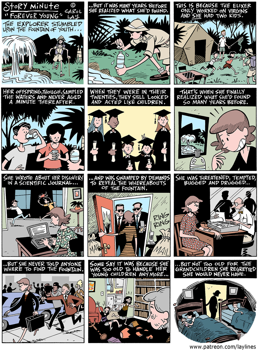 Lay Lines Comic Strip for December 05, 2016