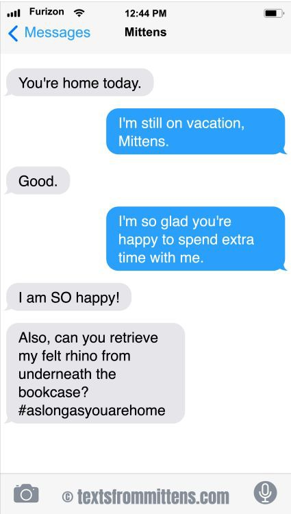 Texts From Mittens by Angie Bailey on Sun, 11 Jul 2021