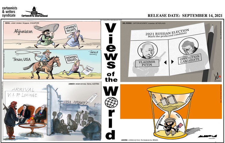 Views of the World Comic Strip for September 19, 2021