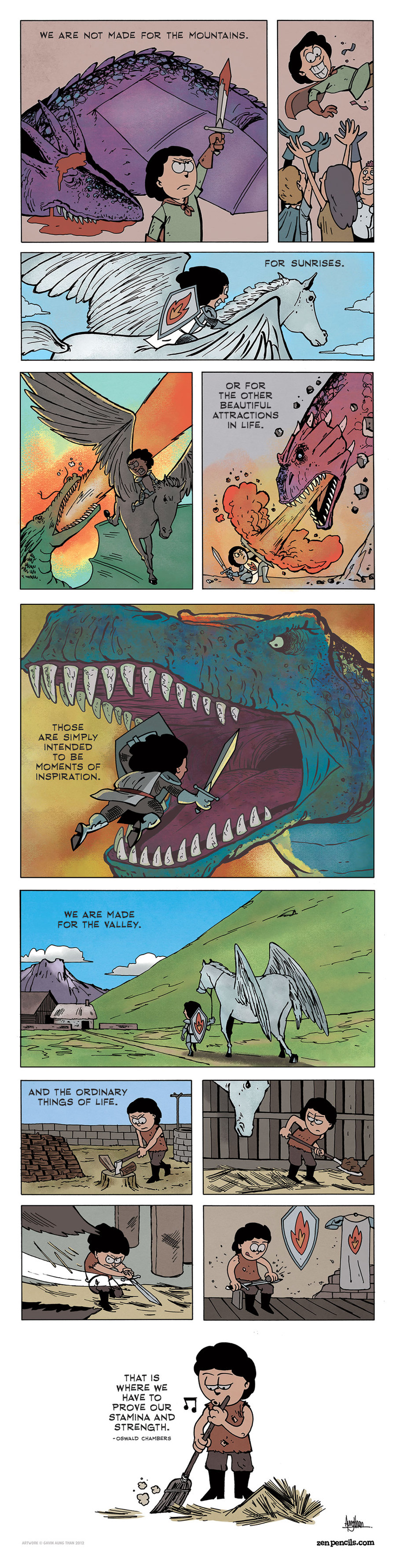 Zen Pencils Comic Strip for November 22, 2013