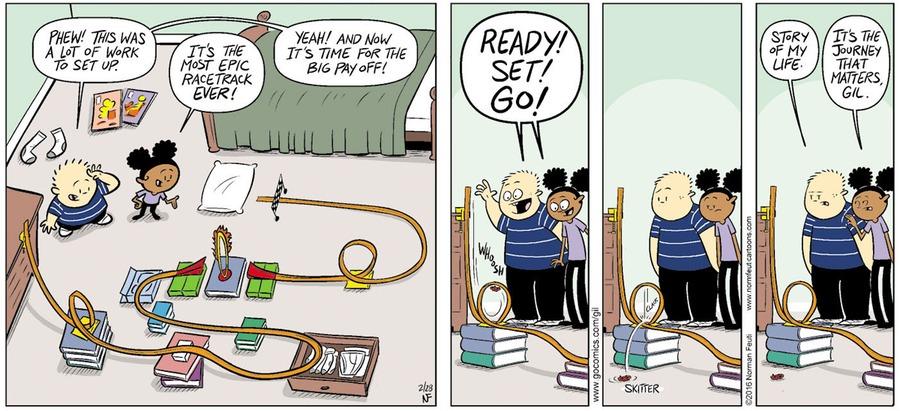 Gil Comic Strip for February 23, 2020