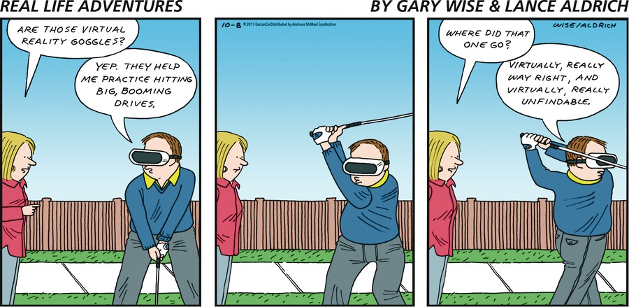 Real Life Adventures for Oct 8, 2017 Comic Strip
