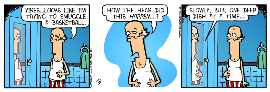 Just Say Uncle by Dan Pavelich for January 11, 2019