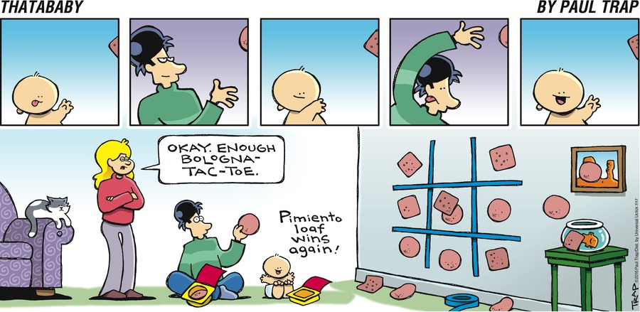 Thatababy Comic Strip for July 17, 2016