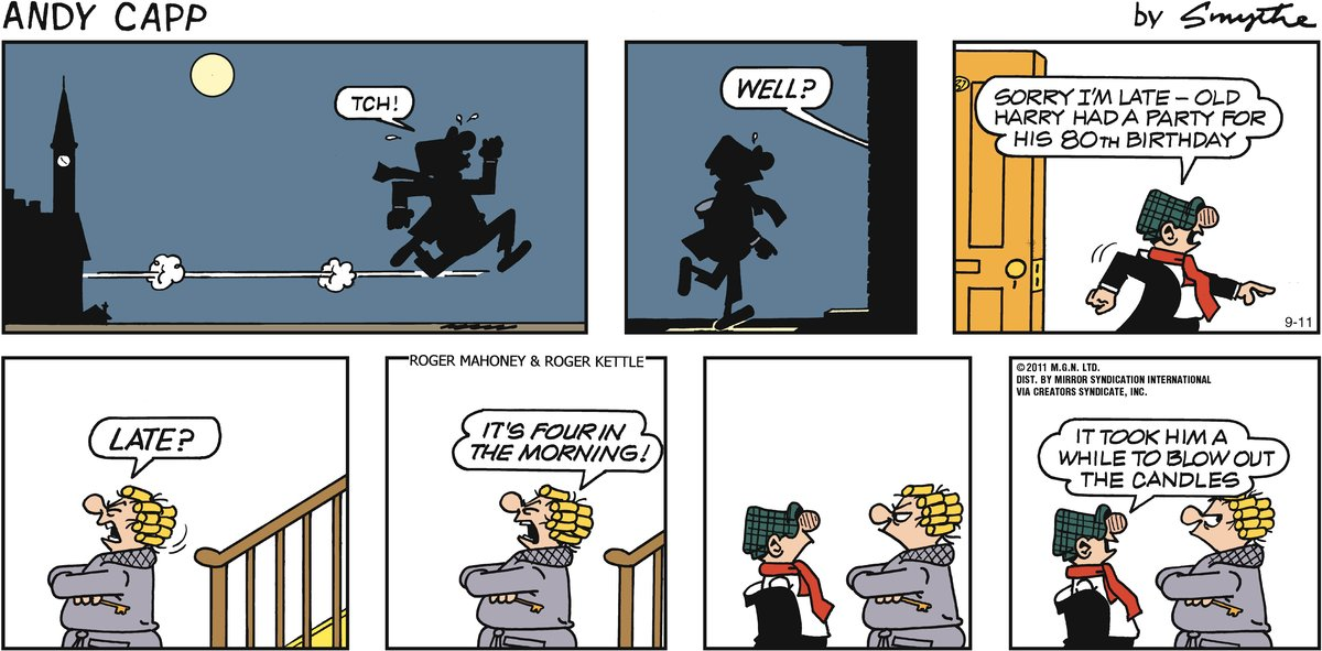 Andy Capp Comic Strip for September 11, 2011