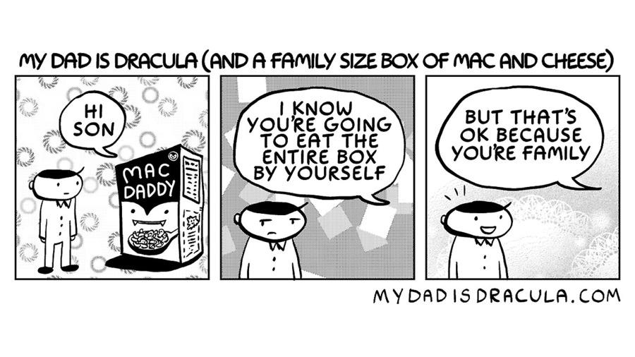 My Dad is Dracula Comic Strip for November 23, 2020
