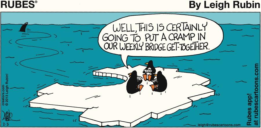 Rubes for Feb 3, 2013 Comic Strip