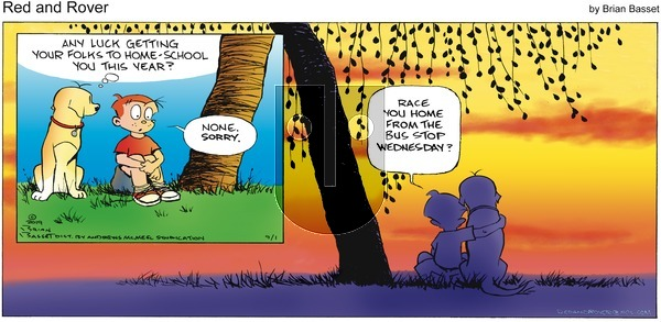 Red and Rover - Sunday September 1, 2019 Comic Strip