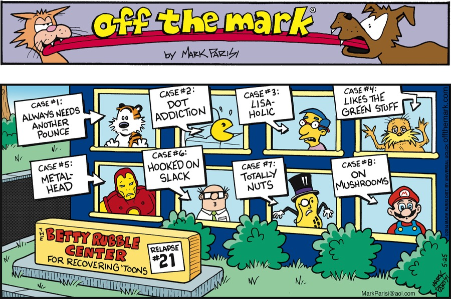Off the Mark for May 25, 2014 Comic Strip