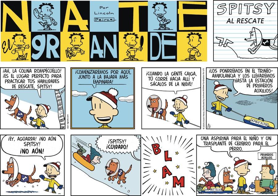 Nate el Grande Comic Strip for February 17, 2019