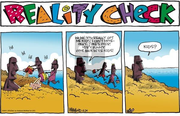 Reality Check on Sunday April 29, 2018 Comic Strip
