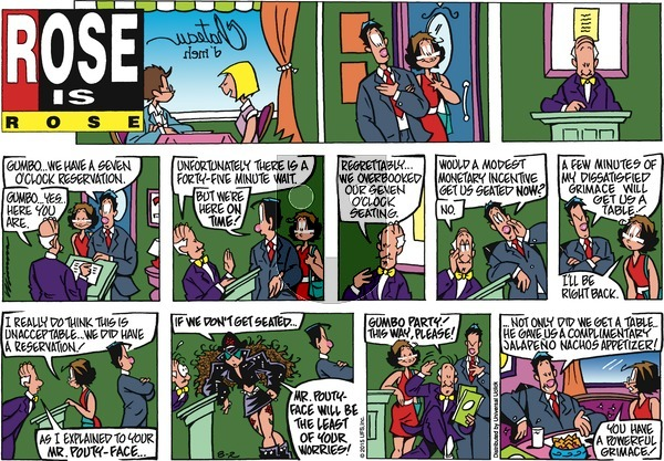 Rose is Rose on Sunday August 2, 2015 Comic Strip