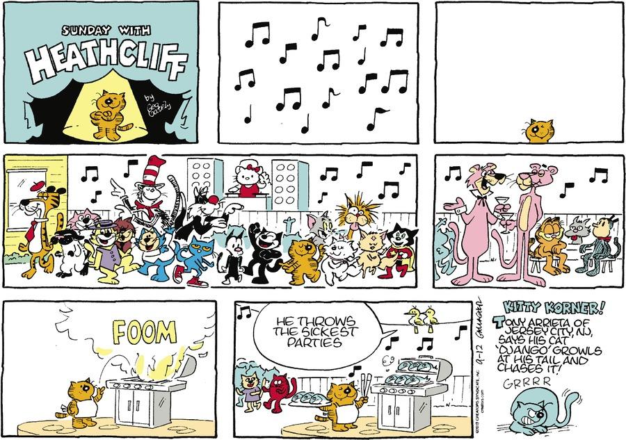 Heathcliff Comic Strip for September 12, 2021