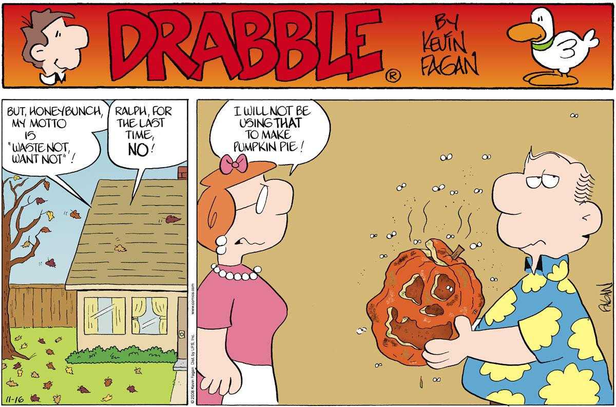 Drabble Comic Strip for November 16, 2008