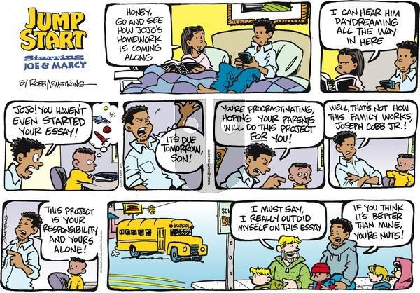 JumpStart on Sunday February 10, 2019 Comic Strip