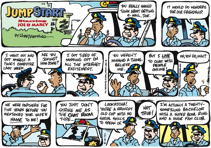 JumpStart for Aug 10, 1997 Comic Strip