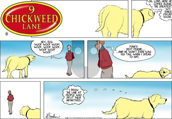 9 Chickweed Lane on Sunday February 12, 2017 Comic Strip