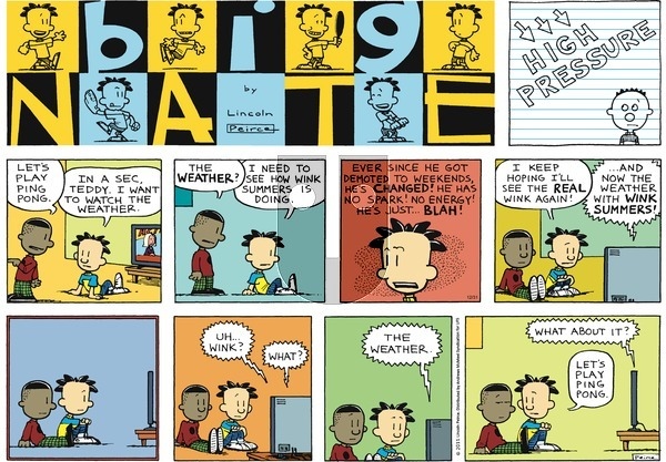 Big Nate on Sunday December 31, 2017 Comic Strip
