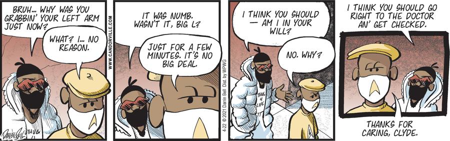 Candorville Comic Strip for April 22, 2021
