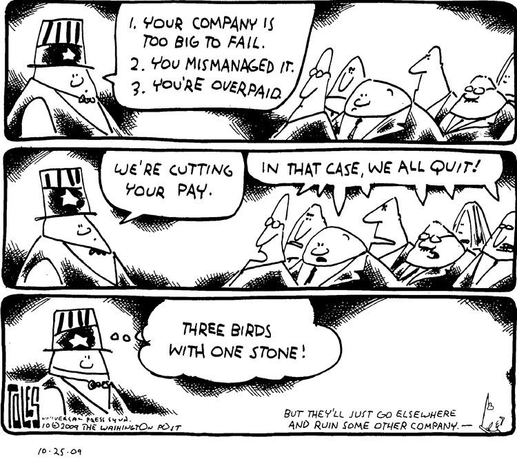 Tom Toles Comic Strip for October 25, 2009