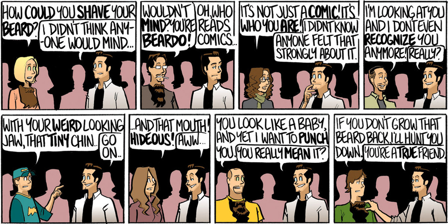 Beardo for Feb 25, 2013 Comic Strip