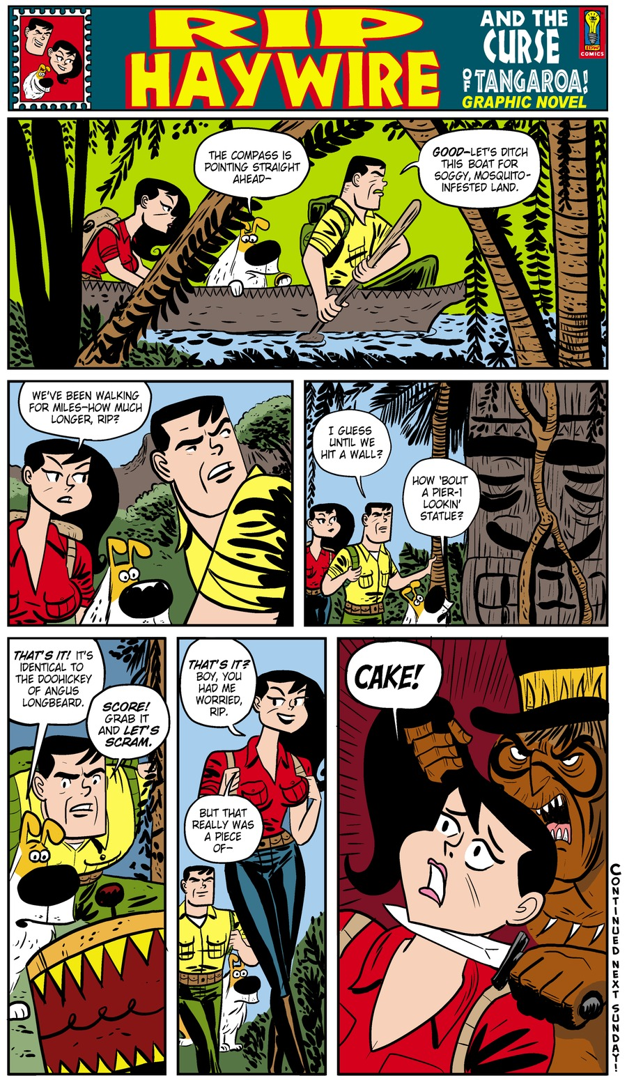 Rip Haywire Comic Strip for January 05, 2014
