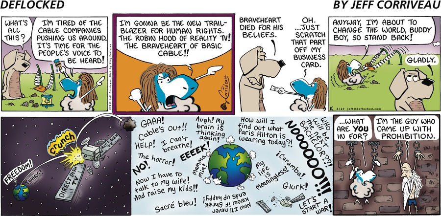 DeFlocked Comic Strip for March 27, 2011