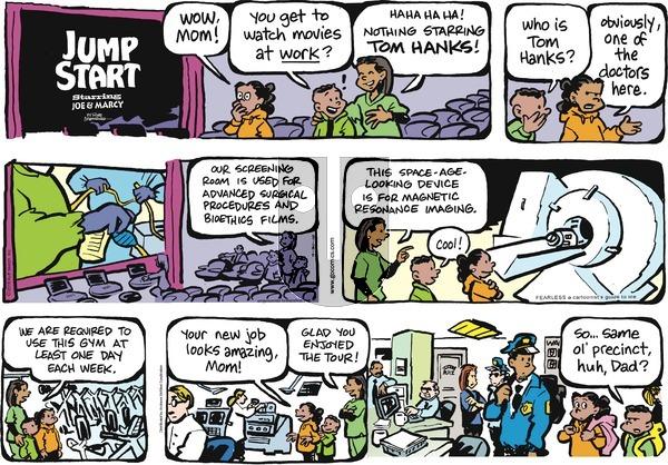 JumpStart on Sunday September 30, 2018 Comic Strip
