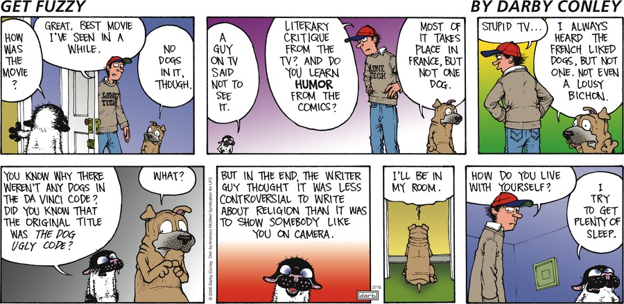 Get Fuzzy Comic Strip for February 10, 2019