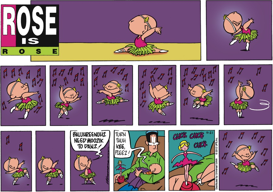 Rose is Rose for Oct 21, 2012 Comic Strip