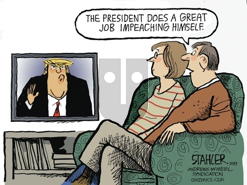 Jeff Stahler on Sunday October 13, 2019 Comic Strip