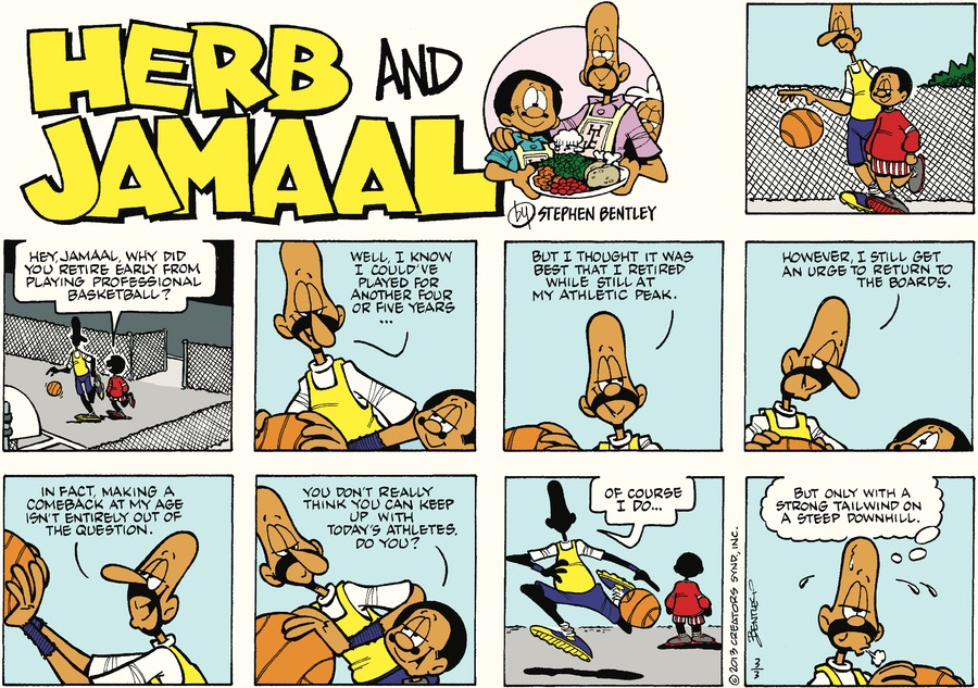 Herb and Jamaal by Stephen Bentley for March 03, 2019