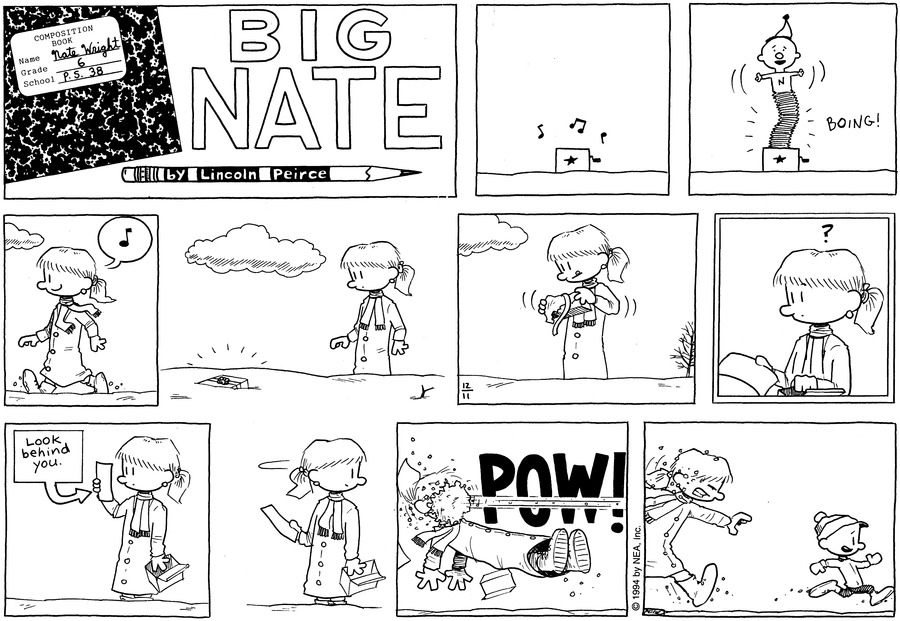 Big Nate: First Class Comic Strip for December 22, 2019