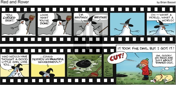 Red and Rover on Sunday January 24, 2021 Comic Strip